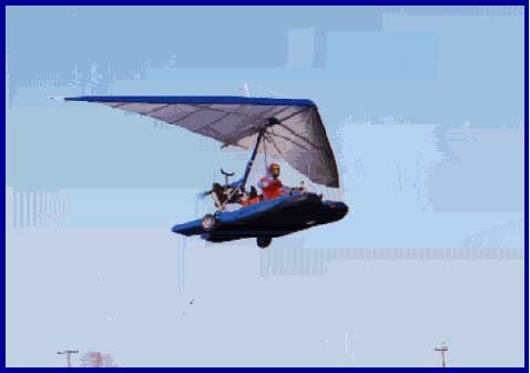 Ron Alford flying amphibious plane